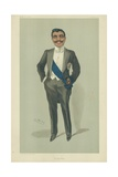 The Aga Khan, 10 November 1904, Vanity Fair Cartoon Giclee Print by Sir Leslie Ward