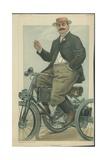 Le Comte Albert De Dion Giclee Print by Jean Baptiste Guth
