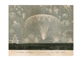 National Fireworks in Celebration of Peace with Russia, 29 May 1856 Giclee Print