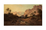 Rephidim, Desert of Sinai, 1877 Giclee Print by Edward Henry Holder