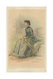 The Marchioness of Waterford, 1 September 1883, Vanity Fair Cartoon Giclee Print by Theobald Chartran