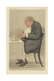 Mr P T Barnum Giclee Print by Sir Leslie Ward