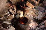 Afghan Baker, Kabul Photographic Print