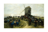 Souvernirs Des Grandes Manoeuvres, 1879 Giclee Print by Jean-Baptiste Edouard Detaille