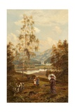 A Distant View of Balmoral Giclee Print by Theodore Hines