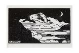 The Jungfrau, 1892 Giclée-Druck von Felix Edouard Vallotton