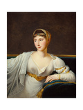 Portrait of Princess Pauline Borghese, Wife of General Leclerc Giclee Print by Robert Lefevre