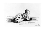 Victoria, the Princess Royal, 1841 Giclee Print by  Queen Victoria