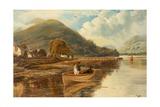 Luss, Loch Lomond Giclee Print by Theodore Hines