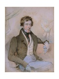 Portrait of William Spencer, 6th Duke of Devonshire, 1828 Giclee Print by Octavius Oakley