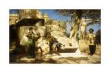 The Patrician's Siesta Giclee Print by Hendrik Siemiradzki
