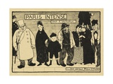Paris Intense, 1893-94 Giclee Print by Felix Edouard Vallotton