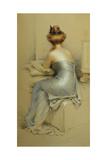 La Modele Giclee Print by Gaston Bouy
