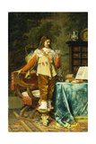 The Cavalier Giclee Print by Jean-Louis Ernest Meissonier