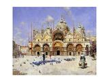 San Marco, Venice, 1883 Giclee Print by Rafael Senet