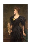 Portrait of Mrs Gillingham Smith, 1895 Giclee Print by Samuel Sidley