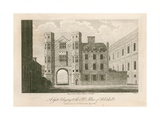 A Gate Belonging to the Old Palace of Whitehall Giclee Print