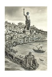Colossus of Rhodes Giclee Print by Peter Jackson