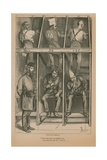 Prisoners on the Treadwheel Giclee Print by Frederick Barnard