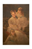Family Group, C.1875-95 Giclee Print by Samuel Sidley