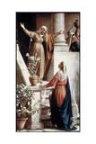 The Visitation Giclee Print by Carl Bloch