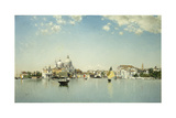 A View of Venice Looking Toward the Santa Maria Della Salute Giclee Print by Martin Rico y Ortega