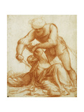 The Death of Saint Peter Martyr Giclee Print by Giovanni Antonio Pordenone