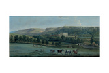 A View of Chatsworth from the South-West Giclee Print by Peter Tillemans