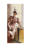 At the Window, 1892 Giclee Print by Paul Fischer