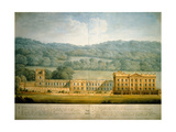 The West Front of Chatsworth House Giclee Print by Sir Jeffry Wyatville