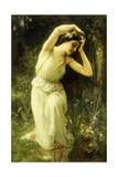A Nymph in the Forest Giclee Print by Charles Amable Lenoir