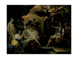 Zeuxis and the Maidens of Croton Giclee Print by Francesco Solimena