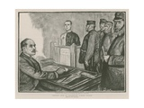 Convict Life at Wormwood Scrubs Prison Giclee Print by Charles Paul Renouard