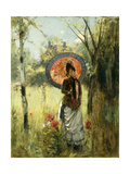 A Summer Stroll Giclee Print by Albert Lynch