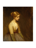 Study of a Fair-Haired Beauty Giclee Print by Jean-Jacques Henner