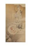The Bodhisattva Kannon, 1883 Giclee Print by  Kano Hogai