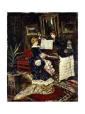 The Recital Giclee Print by Eduardo-leon Garrido