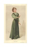 Miss Christabel Pankhurst Giclee Print by Sir Leslie Ward