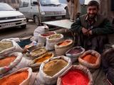 Market Spice Stall, Kabul Photographic Print