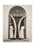 Pair of Tusks, Zanzibar Giclee Print