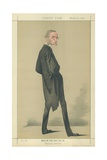 The Reverend Canon Charles Kingsley Giclee Print by Adriano Cecioni