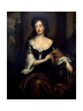 Portrait of Mary Butler, Duchess of Devonshire Giclee Print by Willem Wissing
