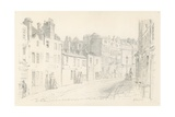 St Martin's Lane, London, 1825 Giclee Print by George The Elder Scharf
