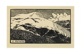 The Breithorn, 1892 Giclee Print by Félix Vallotton