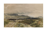 Moorland Scene Giclee Print by Thomas Collier