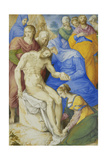 The Lamentation Giclee Print by Giorgio Giulio Clovio