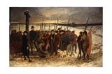 La Guerre Des Paysans (Le Rassemblement), C.1875 Giclee Print by Constantin Emile Meunier