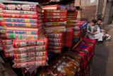 Second Hand Bookstall, Kabul Photographic Print