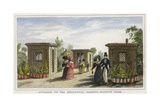 Entrance to the Zoological Gardens, Regent's Park Giclee Print