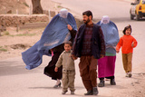 Family with Wives, Afghanistan Photographic Print